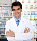 pharmacist at pharmacy